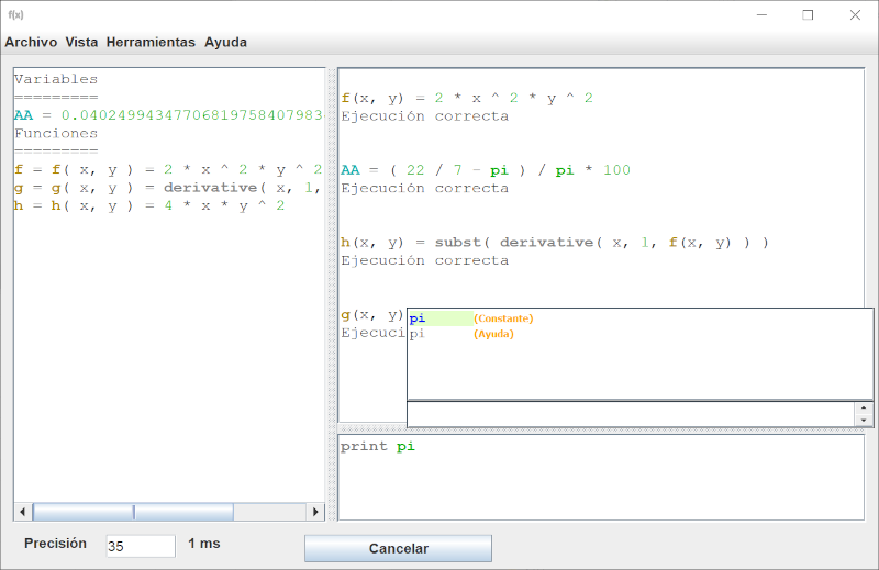 Multiprecision calculator 1.2 full